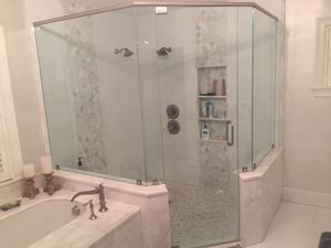 Glass shower door and wall panels. for Sale in Fort Lauderdale, FL