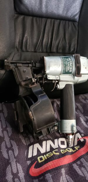 HATCHI 1 3/4 Coil nail gun for Sale in Ingleside, TX