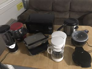 Small kitchen appliances for Sale in Raleigh, NC