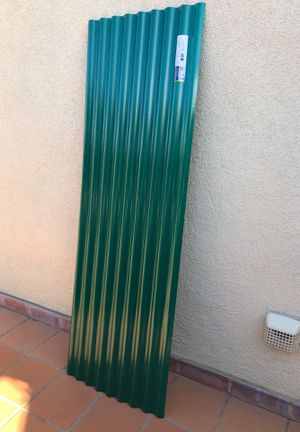 Suntop Rain forest green.(6) one Clear for garden shed for Sale in HILLTOP MALL, CA