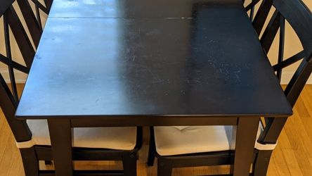 Black Kitchen Table & Chairs for Sale in Beverly Hills,  CA