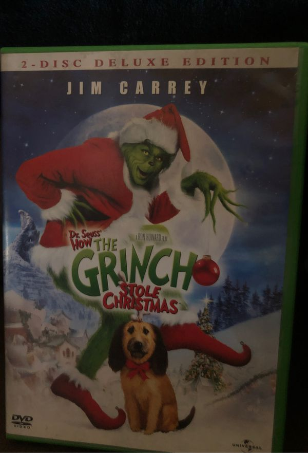 The Grinch who stole Christmas DVD