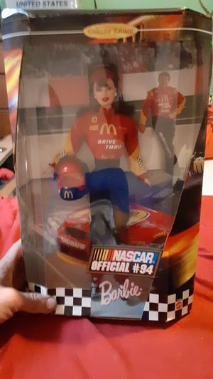 #94 nascar barbie in original packaging for Sale in Punta Gorda, FL