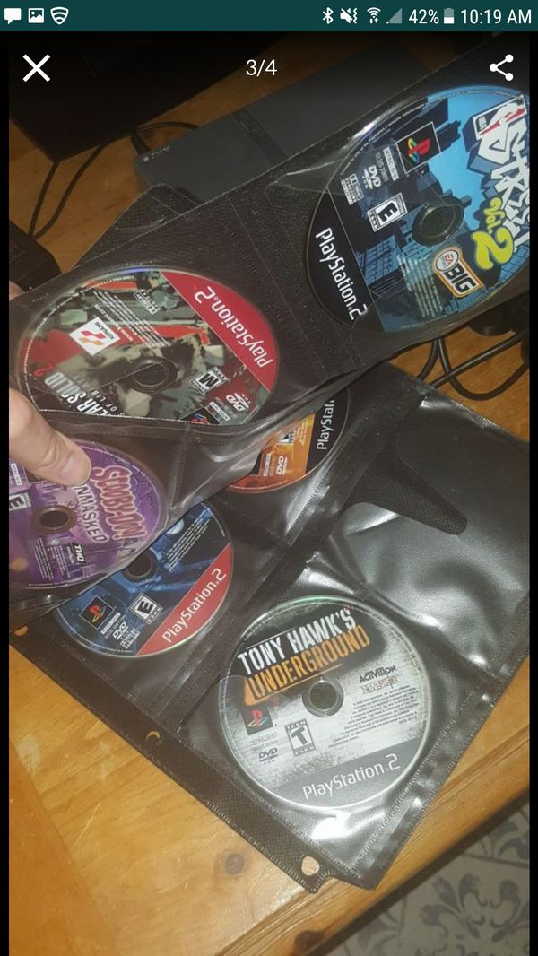 Ps2 slim and games