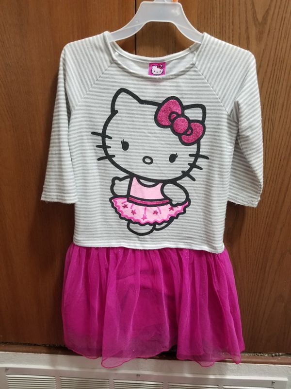 Girls Hello Kitty Dress. Size 7/8.