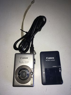 Canon Powershot SD400 5MP Digital Elph Camera with 3x Optical Zoom for Sale in La Mesa, CA