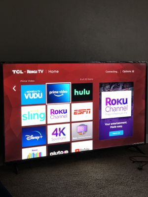 Tcl 4K 65 inch tv for Sale in Denver, CO