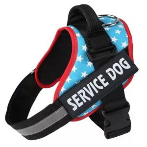 Service Dog Harness Stars Vest for Sale in Bayonet Point, FL