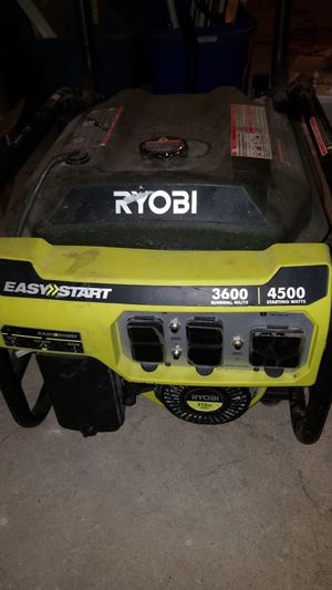 Ryobi 3600 watts powered portable generator for Sale in Chicago, IL