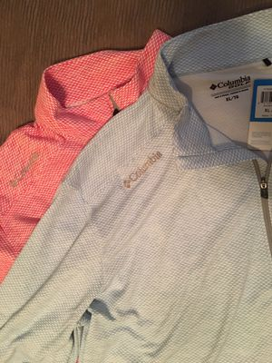 Columbia Golf/Fishing Pullovers XL for Sale in Trumbull, CT