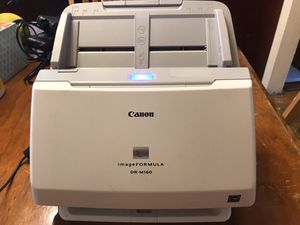 Canon ImageFORMULA DR-M160 With power cord, and in very good condition. for Sale in Federal Way, WA