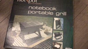 Notebook portable grill for Sale in Schiller Park, IL