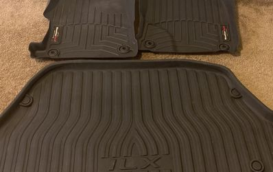 Weathertech Floor Mats For Acura ILX (Various Years) With OEM Trunk Mat 444921 444922 for Sale in San Antonio,  TX