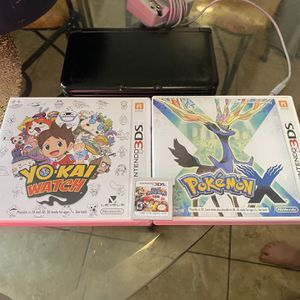 black Nintendo 3DS XL With Pokémon And Games for Sale in Phoenix, AZ