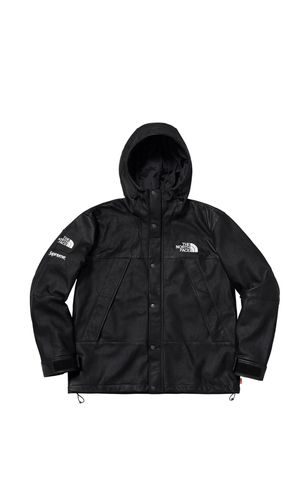 Supreme x The north face leather mountain jacket for Sale in Miami Beach, FL
