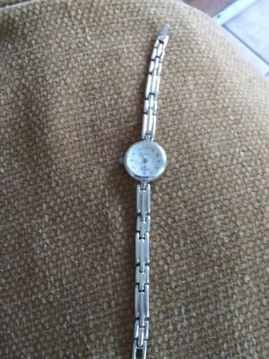 Beauty & health...L@@K!! ARGENTO .925 QUARTZ STERLING SILVER LADIES WRIST WATCH .VERY NICE for Sale in Lincoln Acres, CA