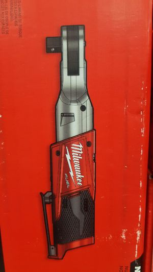 MILWAUKEE M12 FUEL BRUSHLESS 1/2 RATCHET TOOL ONLY BRAND NEW SOLO LA HERRAMIETA SIN BATERIA SIN CARGADOR NUEVO for Sale in San Bernardino, CA