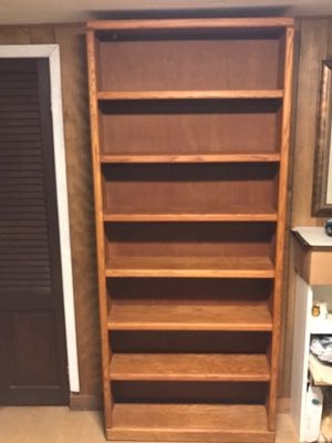 Wooden bookshelves used for Sale in Mill Neck, NY