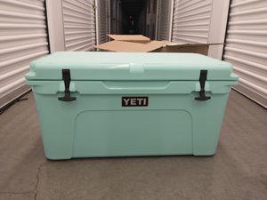 Yeti Tundra 65 seafoam green cooler for Sale in Santa Clara, CA