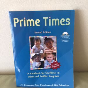 Prime Times Second Edition (A Handbook for Excellence In Infant And Toddler Programs for Sale in San Francisco, CA