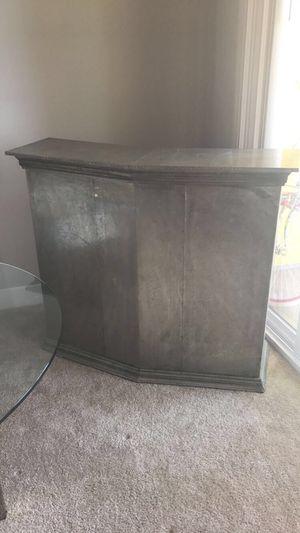 Antique/ vintage solid wood bar/ liquor cabinet /desk for Sale in Marina del Rey, CA