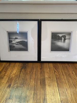 Pair of Black & White Landscape pictures for Sale in St. Louis, MO