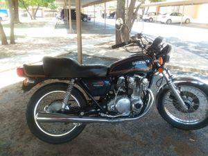 Motorcycle 550 Suzuki for Sale in Lubbock, TX