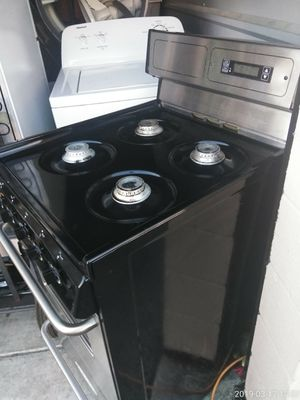 20 inch gas stove electronic ignition digital clock works Good 45 day warranty {contact info removed} for Sale in Fort Washington, MD