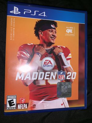 Madden PS4 for Sale in Antioch, CA