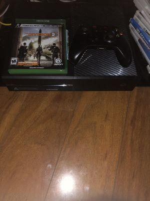 Xbox one 500gb W/ Devision 1 & 2 for Sale in Philadelphia, PA