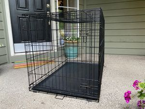 """EXTRA LARGE SIZE (48"""") WIRE DOG KENNEL / CRATE for Sale in Portland, OR"""