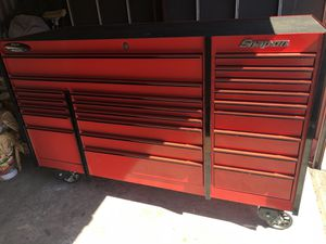 73x28 snap on tool box for Sale in Spring, TX