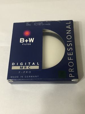 B+W 67mm UV Haze 010 F-Pro Filter 1x MRC for Sale in Hollywood, FL