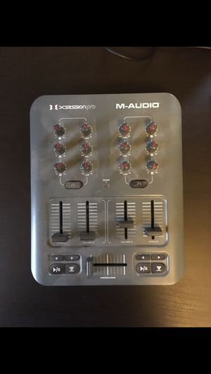 M-Audio USB dj mixer for Sale in New Haven, CT