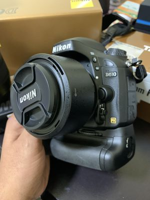 Nikon D610 With Nikkor 50mm lens and WU1b Wi-Fi for Sale in The Bronx, NY