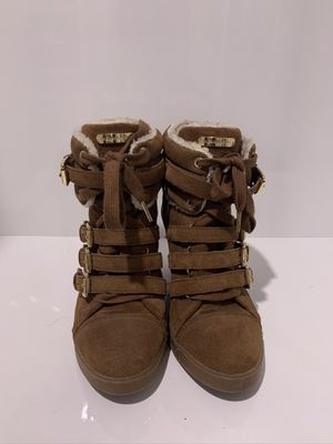 Fur Brown Michael Kors Boots for Sale in Miami, FL