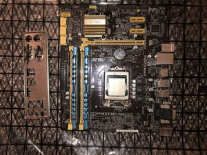 I7 4770 CPU, ASUS B85M-G mATX Motherboard, 16GB Ripjaws 1600MHz Dual Channel DDR3 RAM Combo for Sale in Federal Way, WA