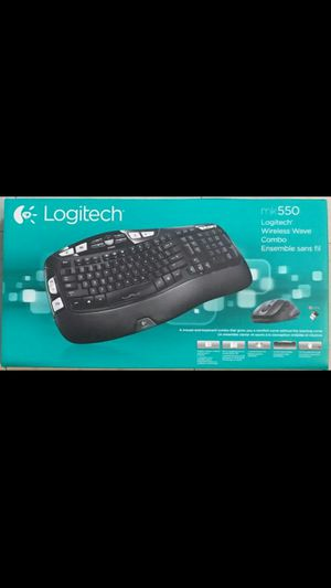 Logitech mk550 Wireless Wave Keyboard M510 Mouse Combo for Sale in Portland, OR