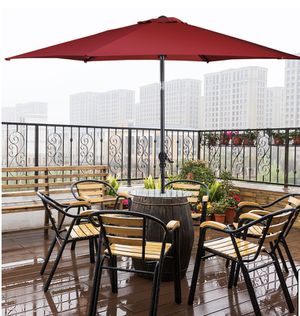 10 FT Red Outdoor Umbrella for Sale in Fontana, CA