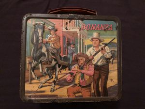 Bonanza vintage lunchbox for Sale in Purcellville, VA
