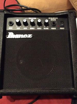 Ibenez Gio GUITAR, gig bag, GTA10 Amplifier for Sale in Las Vegas, NV