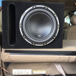 Jl Audio 10w6 Subwoofer W/ported Box for Sale in Lakeside, CA