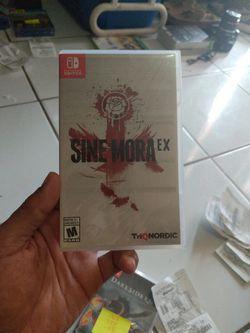 Sine Mora EX Nintendo Switch Shoot'em Up Video Game for Sale in Miami Gardens,  FL
