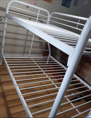 Bunk bed! (Used) with mattresses! for Sale in Palo Alto, CA