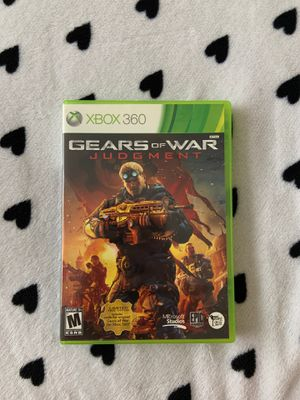 Gears of War: Judgment | Xbox 360 Game for Sale in Baldwin Park, CA