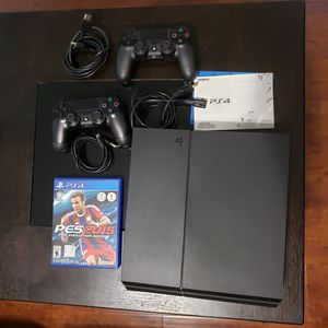 Ps4 console + controllers for Sale in Arcadia, CA