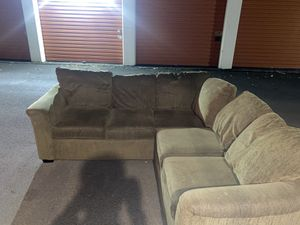 Sectional couch FREE DELIVERY for Sale in Portland, OR