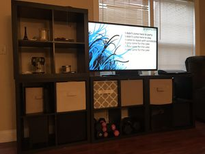 IKEA shelves used as TV holder for Sale in Christiansburg, VA