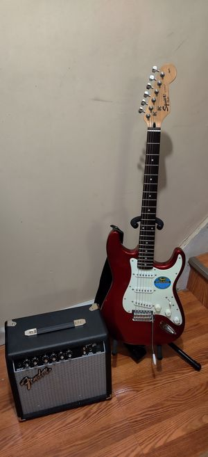 Fender Squire Strat Guitar for Sale in Brooklyn, NY