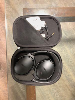 Bose QC 35 wireless II black headphones for Sale in Kent, WA